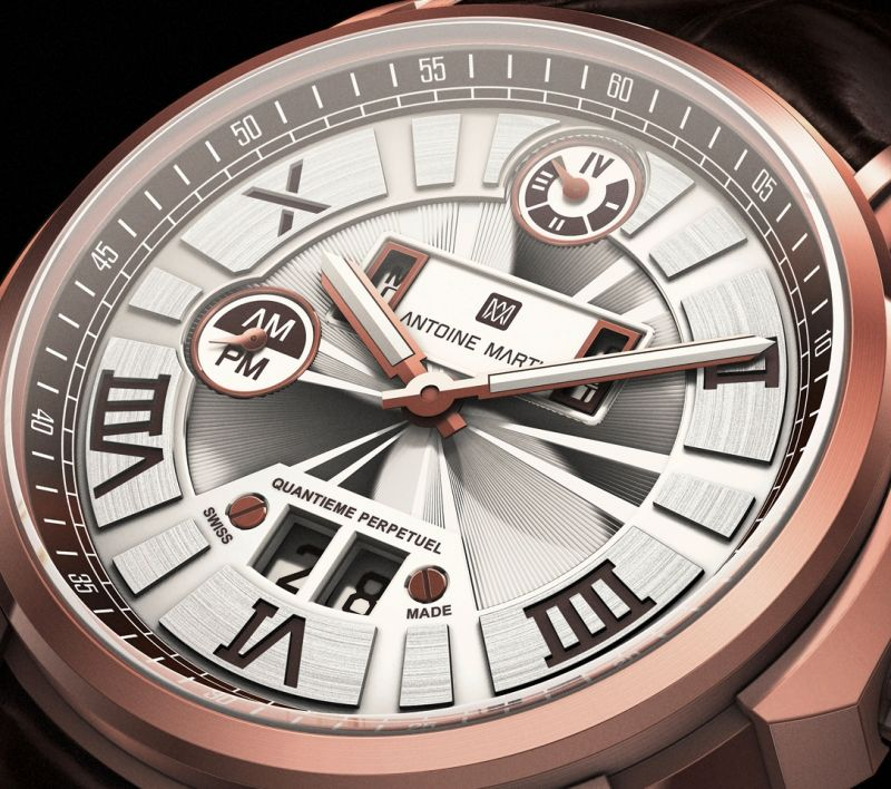 ANTOINE MARTIN Perpetual Calendar QP01 watch