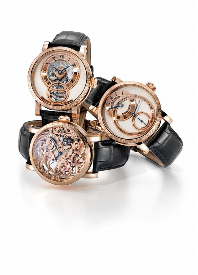 Benzinger Boutique Collection by GRIEB & BENZINGER - New BLOSSOM, REGULATOR PHAROS and POLARIS Models