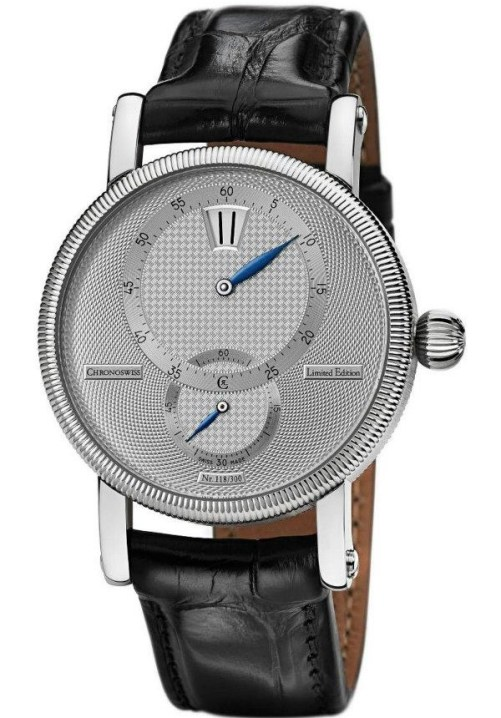 Chronoswiss Régulateur 30 Limited Edition watch CH 2813 Stainless steel