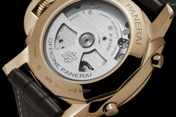 Panerai LUMINOR 1950 3 DAYS CHRONO FLYBACK ORO ROSSO - 44mm - Reference: PAM00525