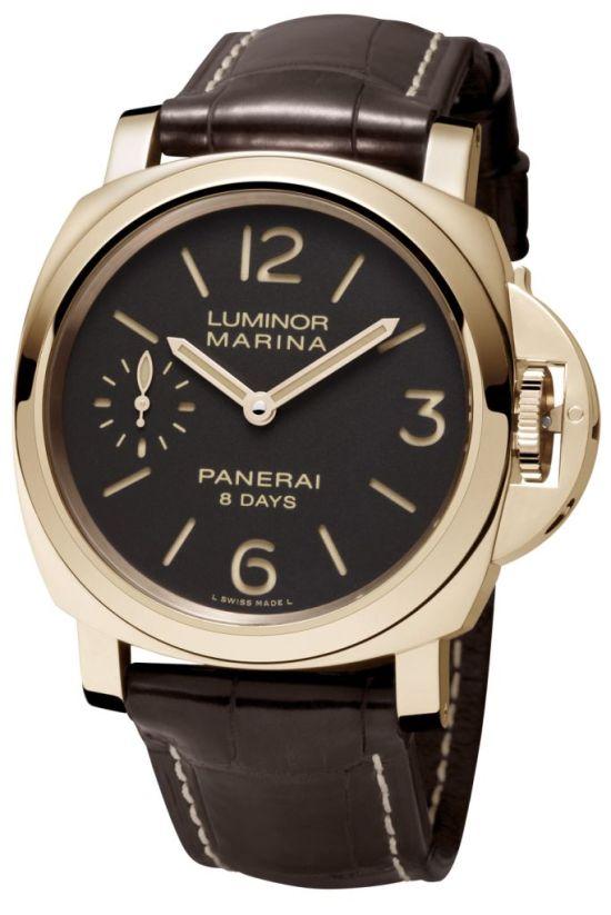 PANERAI LUMINOR MARINA 8 DAYS ORO ROSSO - 44mm, Reference: PAM00511