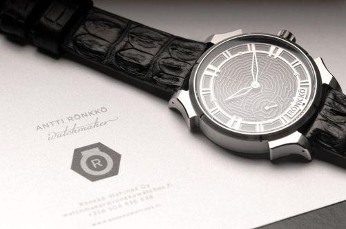 Rönkkö Steel Labyrinth watch