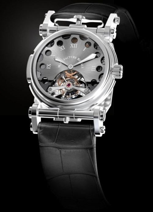Manufacture Royale Volteface 180° watch