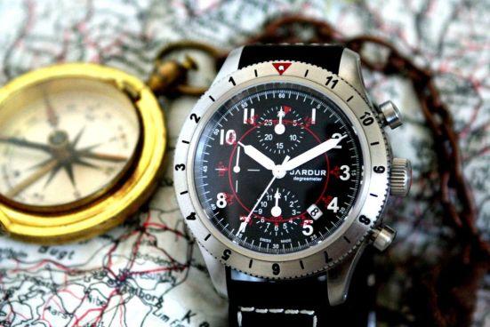 JARDUR Degreemeter automatic swiss chronograph