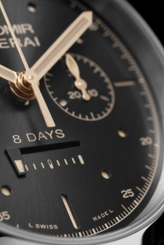PANERAI RADIOMIR 1940 CHRONO MONOPULSANTE 8 DAYS GMT ORO ROSSO - 45mm, Reference: PAM00502