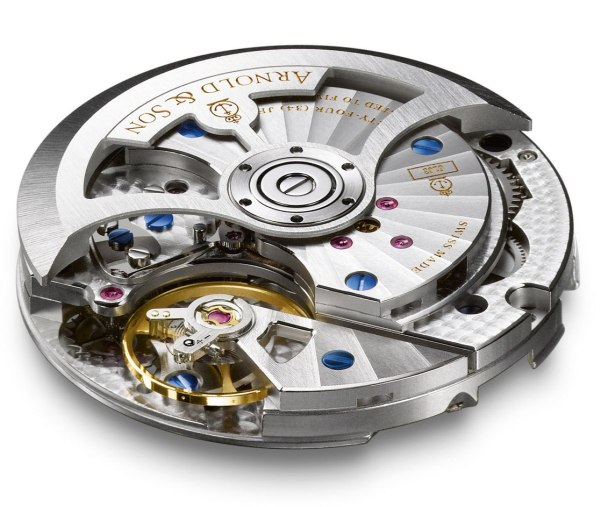 Arnold and Son TB Victory watch movement A&S6103 calibre
