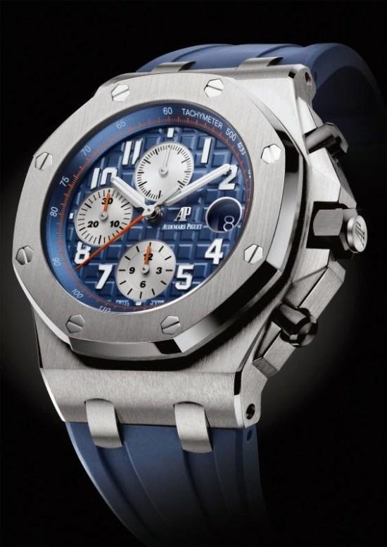 Audemars Piguet Royal Oak Offshore Chronograph 42mm with royal-blue dial