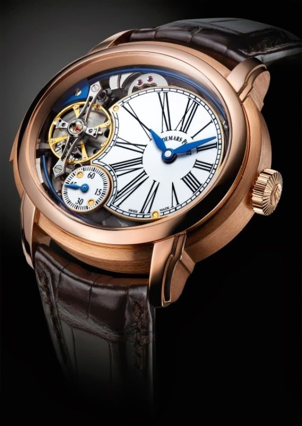 Audemars Piguet Millenary Minute Repeater in Pink Gold