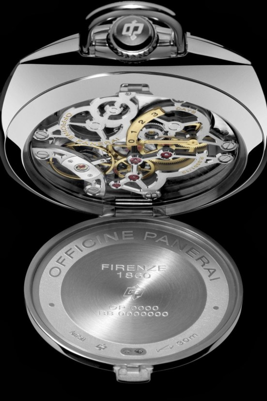 Panerai Pocket Watch 3 Days Oro Bianco (PAM00529)