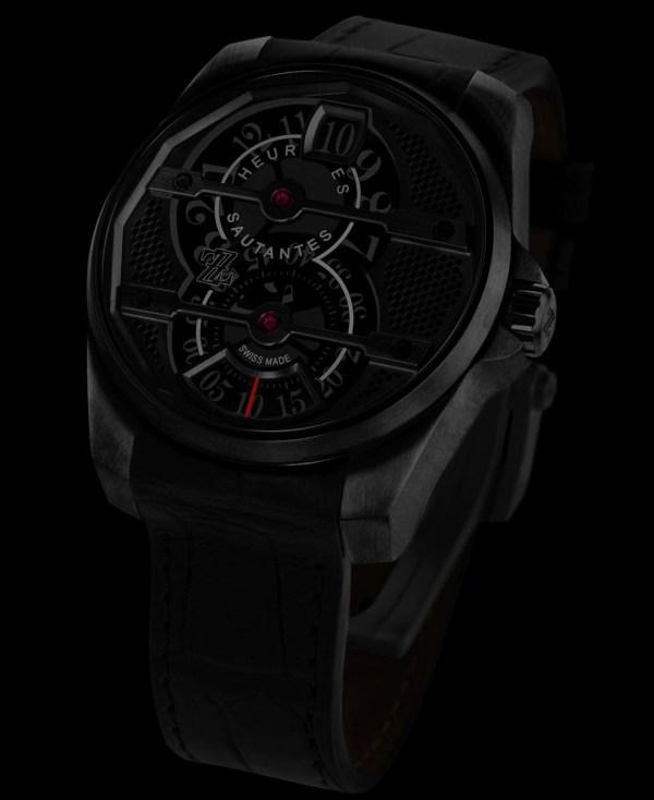ZZ Tornade automatic black dlc watch