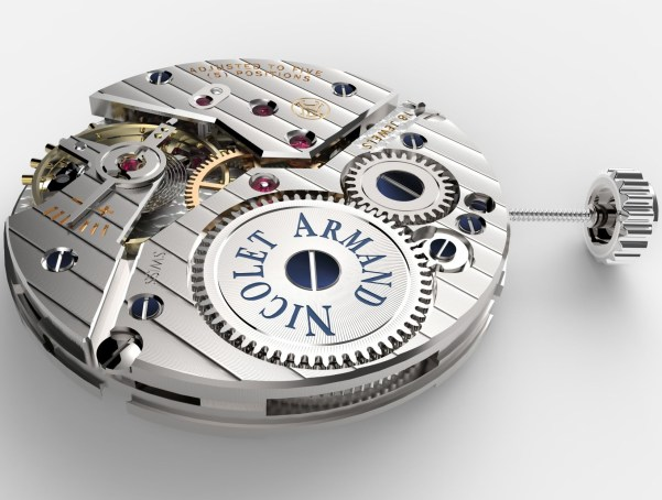 Armand Nicolet L14 Small Seconds Limited Edition watch movement