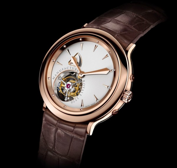Manufacture Royale 1770 Flying Tourbillon rose gold watch