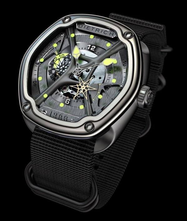 DIETRICH 1969 Organic Time Companion Model A (OTC-A) watch