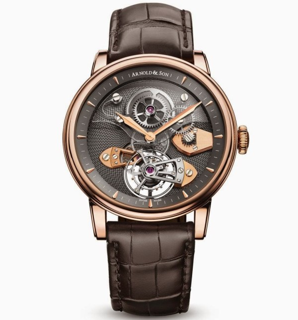Arnold and Son TES Tourbillon (Royal Collection) Limited Edition watch red gold case