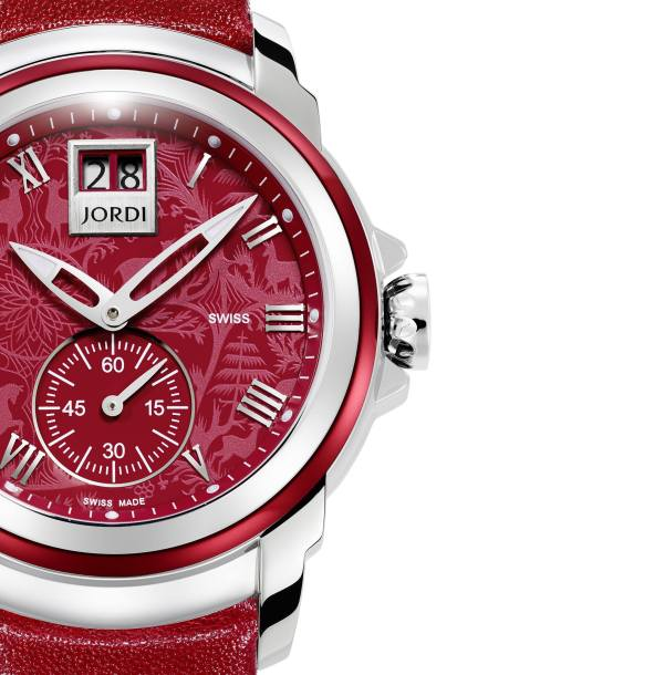Jordi Lady Icon Red Passion watch