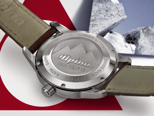 Alpina Alpiner Collection - Alpiner Automatic (AL-525) case back view
