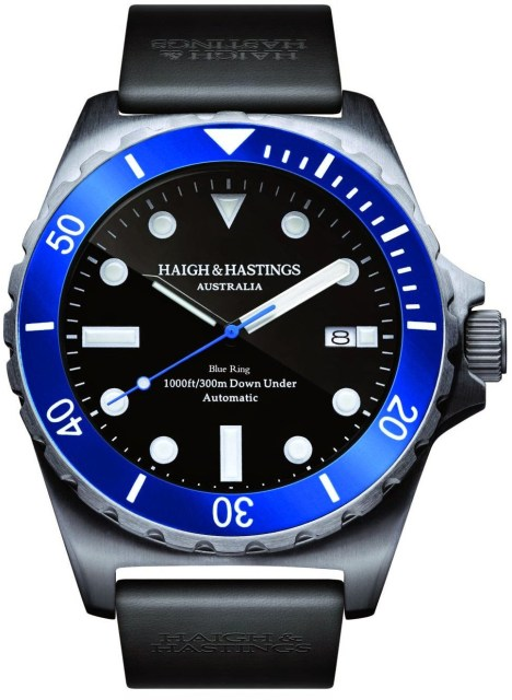 Haigh & Hastings Limited Edition M2 Diver Commemorative watch 50th Anniversary of the Special Air Service Regiment (SASR)