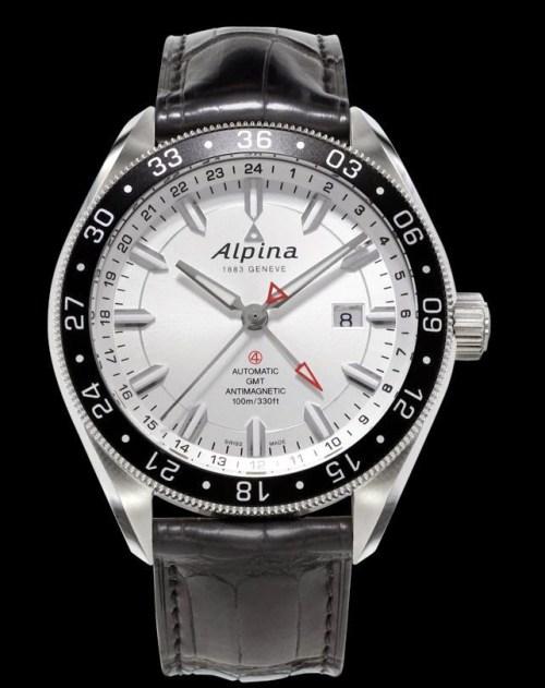 ALPINER 4 GMT: Reference: AL-550S5AQ6 / AL-550S5AQ6B