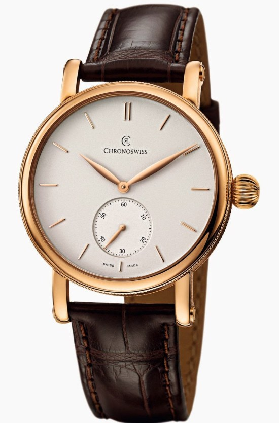 CHRONOSWISS Sirius Small Seconds Automatic Red Gold watch CH 8021 R