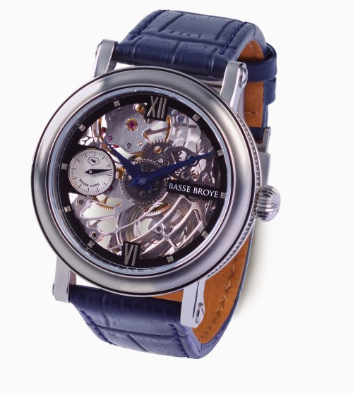 BASSE BROYE Elégance Bleu watch