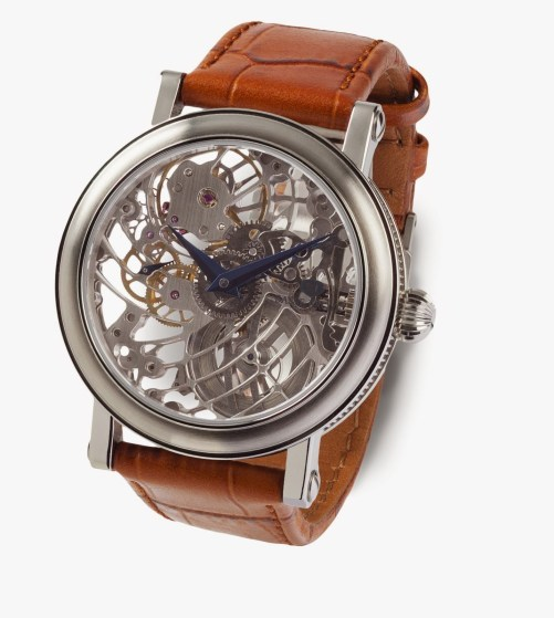 BASSE BROYE Elégance Marron watch