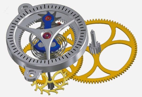 Andreas Strehler Sauterelle watch force constant mechanism