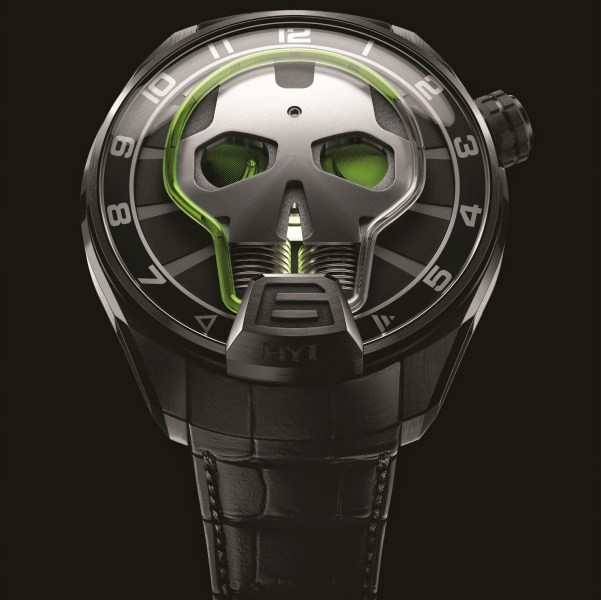 HYT SKULL Limited Edition Green Eye