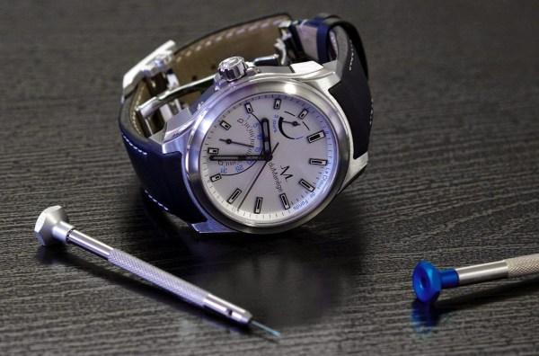 duManège DM-Exploration Watch Silver Edition