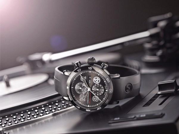 """Chronoswiss Timemaster Chronograph Day Date F4 """"Die Fantastischen Vier"""" Special Edition"""