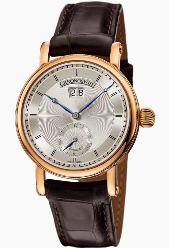 Chronoswiss Sirius Big Date Small SecondsAutomatic watch CH-8421R: 18-karat red gold case