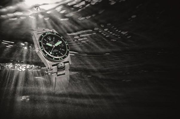 Zuccolo Rochet France Grands Fonds 300 diving watch re-edition