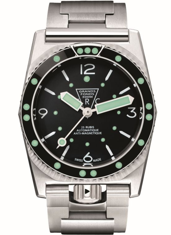 2015 re-issue of the ZRC Grands Fonds 300 diving watch