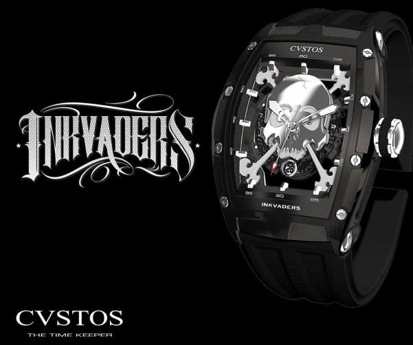 CVSTOS Inkvaders Jetliner Skull Limited Edition