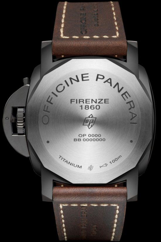 Panerai LUMINOR 1950 3 DAYS TITANIO DLC – 47mm Ref. PAM00617
