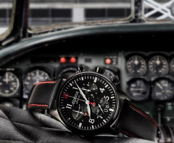 "Alpina Startimer Pilot Chronograph Big Date ""201st Squadron"" Limited Edition"