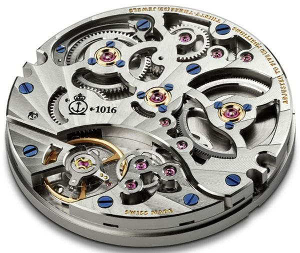 Arnold and Son Calibre A&S1016 movement of Eight-Day Royal Navy watch