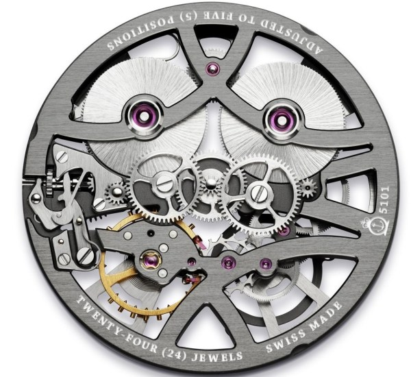 Arnold and Son Nebula watch Manufacture calibre A&S5101