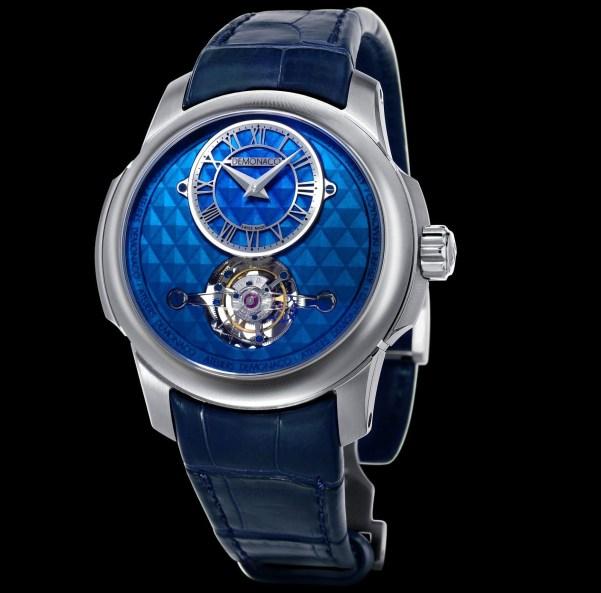 Ateliers deMonaco Tourbillon Oculus 1297 Titanium watch