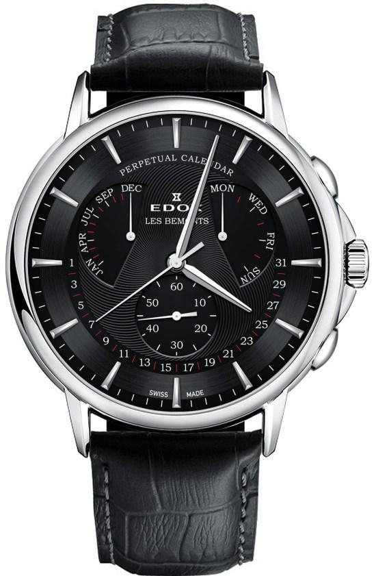 Edox Les Bemonts Perpetual Calendar watch