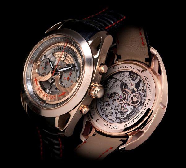 Frédéric Jouvenot FJ ACE-001 Automatic Chronograph Pink gold