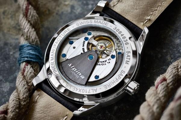 Alpina Alpiner Heritage Manufacture KM-710 watch case back