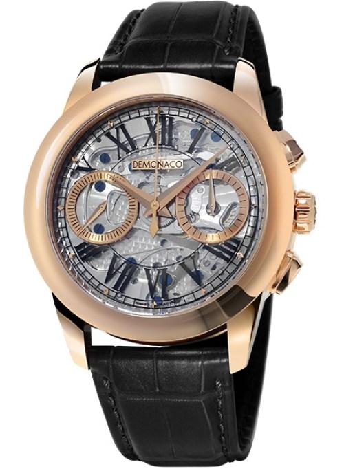 Ateliers deMonaco Admiral Chronographe Flyback- Saphir rose gold