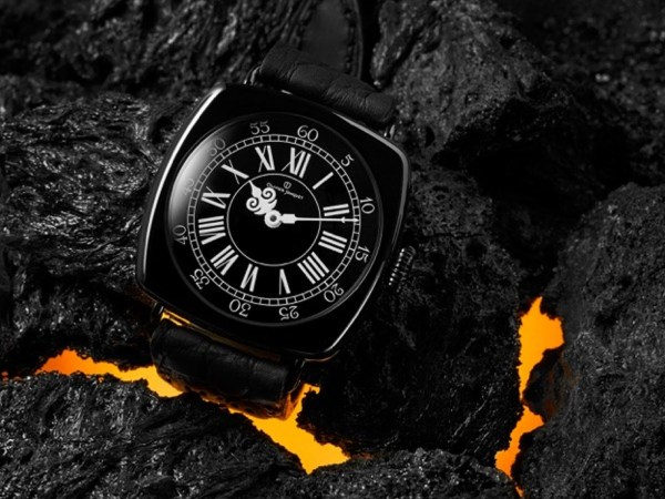 OLIVIER JONQUET Black Capitaine watch