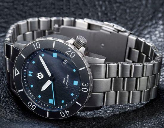 Hamtun H1 Titanium Automatic Dive Watch