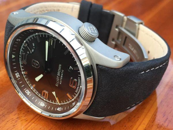 Elliot Brown Tyneham Automatic watch
