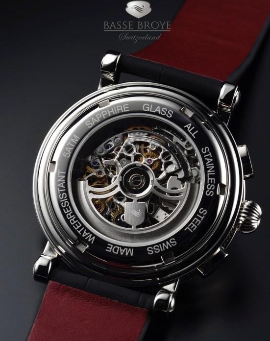 Basse Broye Automatic skeleton chronograph
