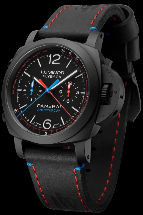 Panerai Luminor 1950 Oracle Team USA 3 Days Chrono Flyback Automatic Ceramica – 44mm (Reference: PAM00725)