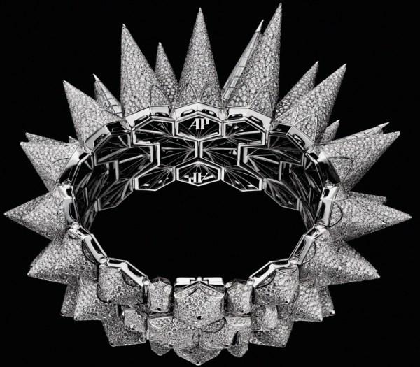 Audemars Piguet Diamond Outrage cuff watch