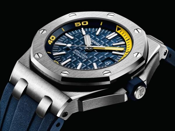 Audemars Piguet Royal Oak Offshore Diver new model with blue dial