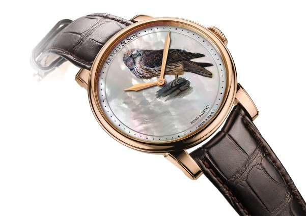 Arnold and Son Métiers d'Art HM Falcon watch